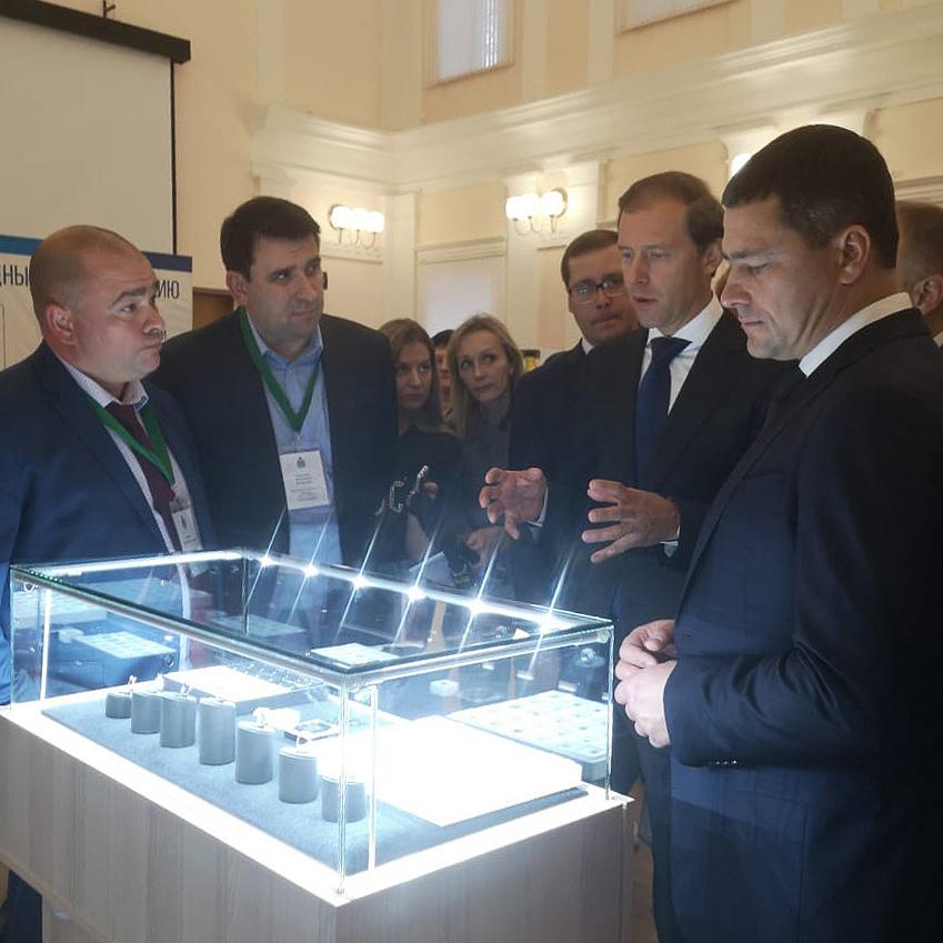 Министр промышленности  Российской Федерации поддержал Синтез Технолоджи.